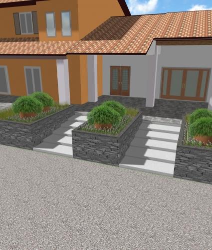 Progetti in corso progettazione giardini agronomo for Corso progettazione giardini