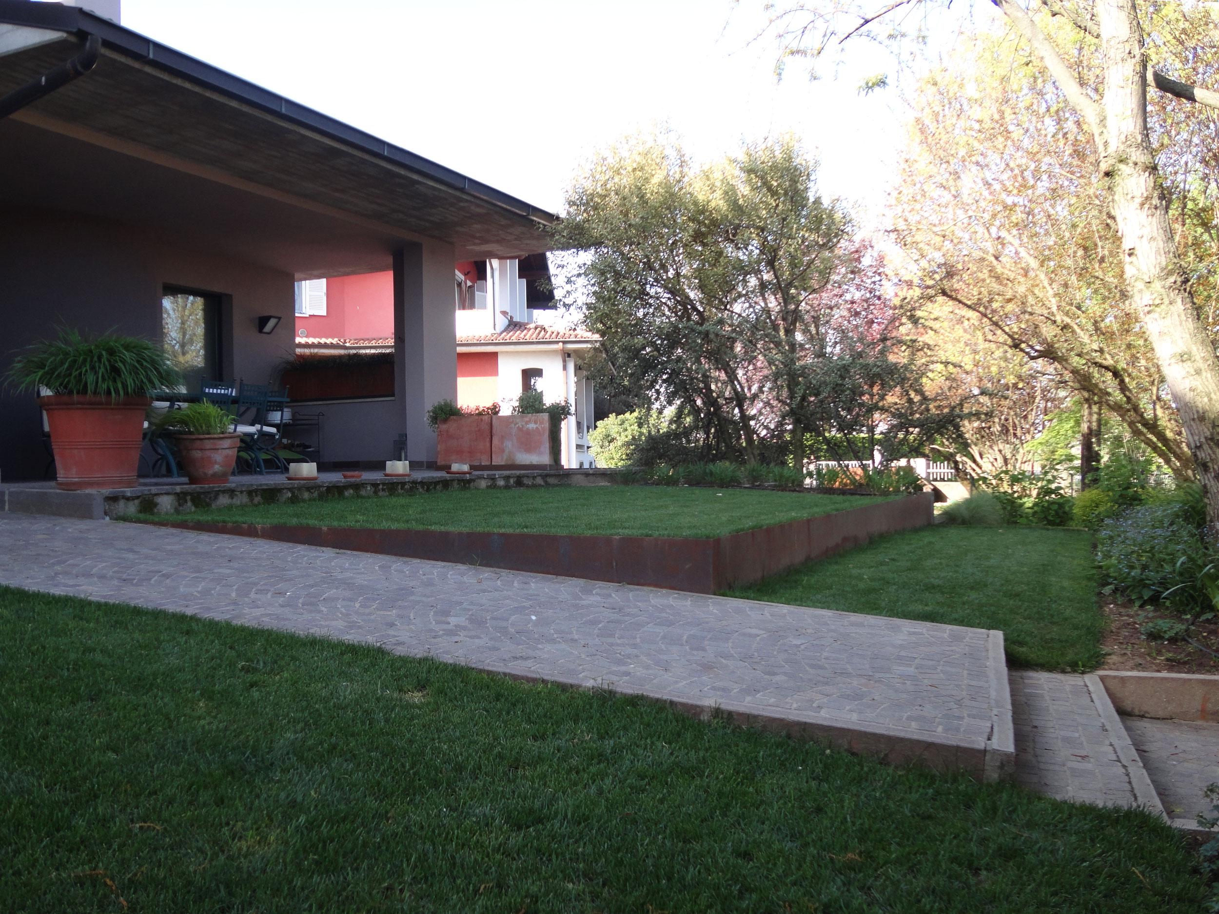 Progettazione giardini privati Brescia | Matite verdi di Simone ...