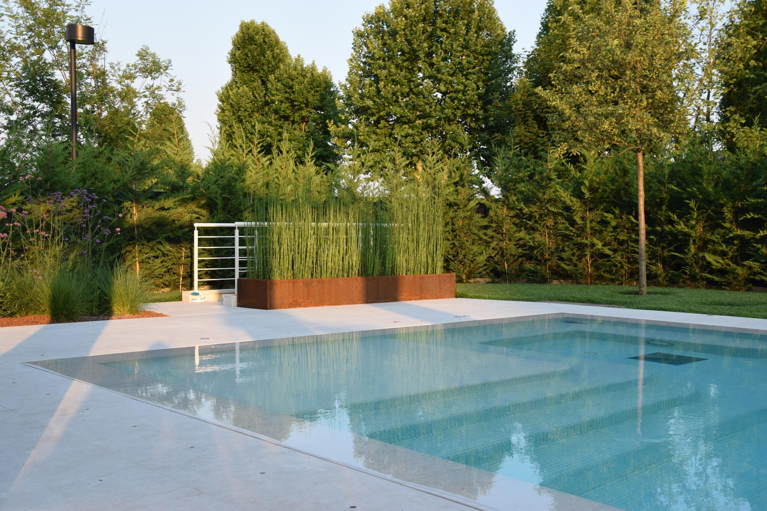 A bordo piscina progettazione giardini agronomo for Corso progettazione giardini
