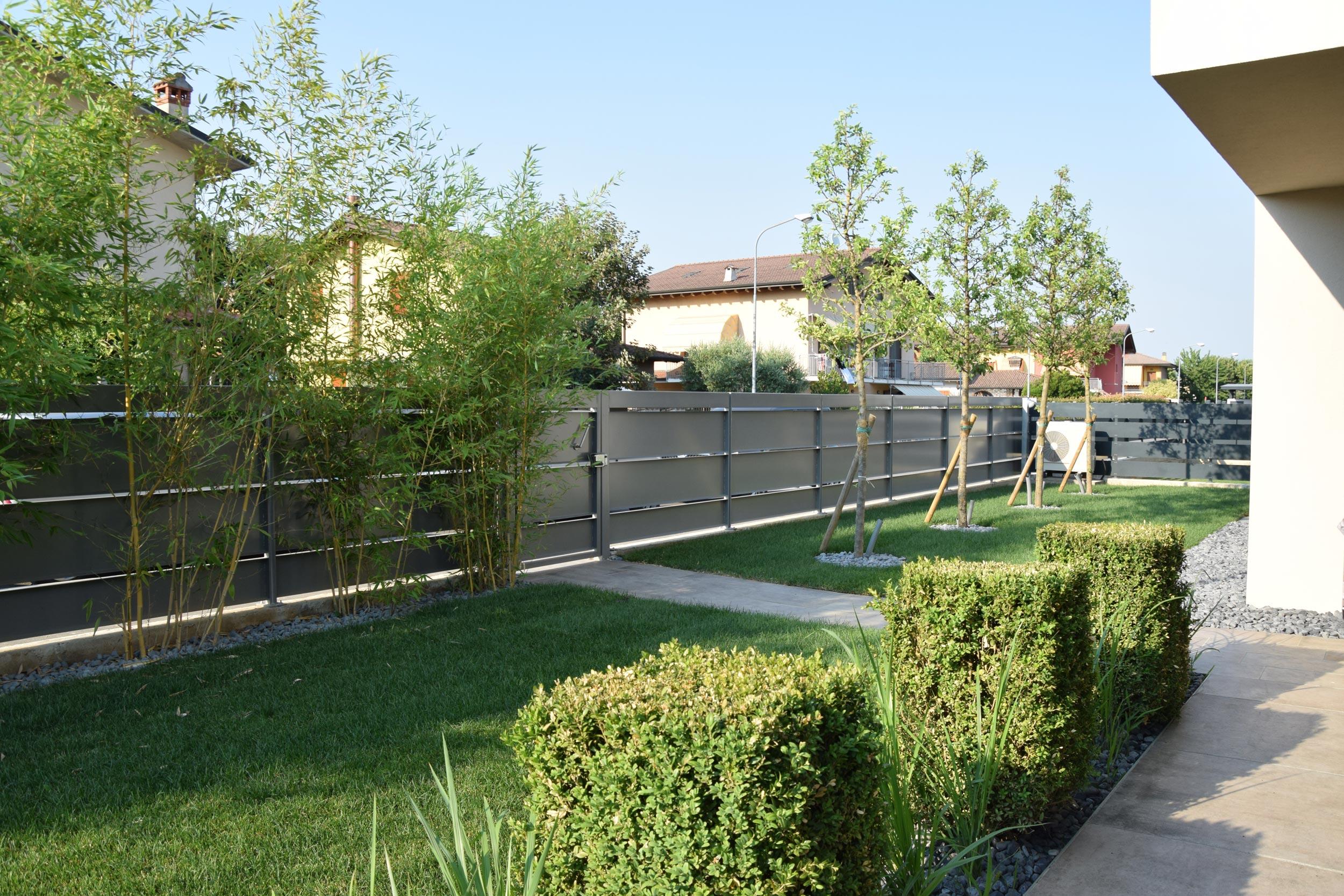 progetto giardino con piscina