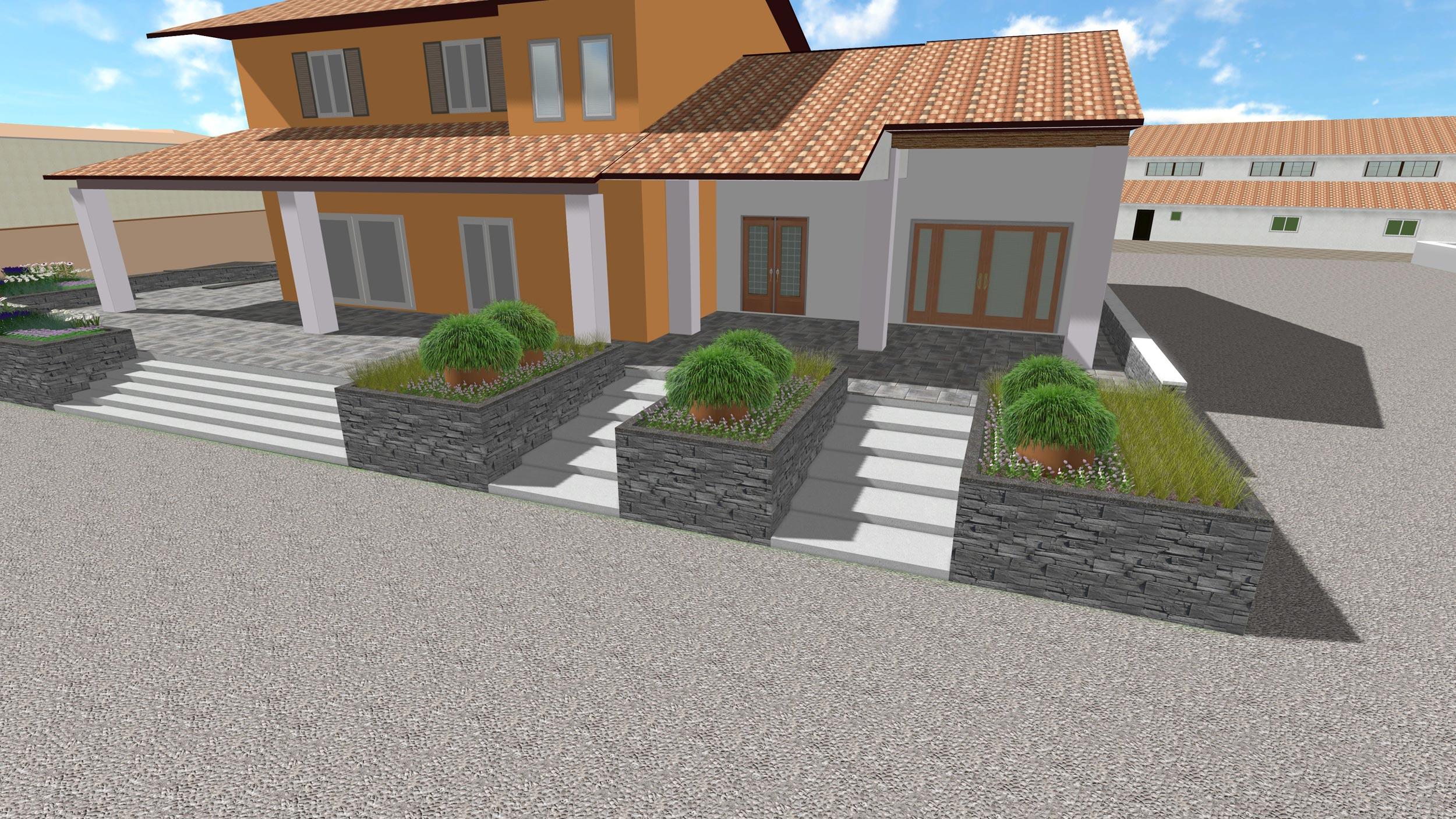 Progetti di giardini pubblici e aziendali in fase di for Corso progettazione giardini