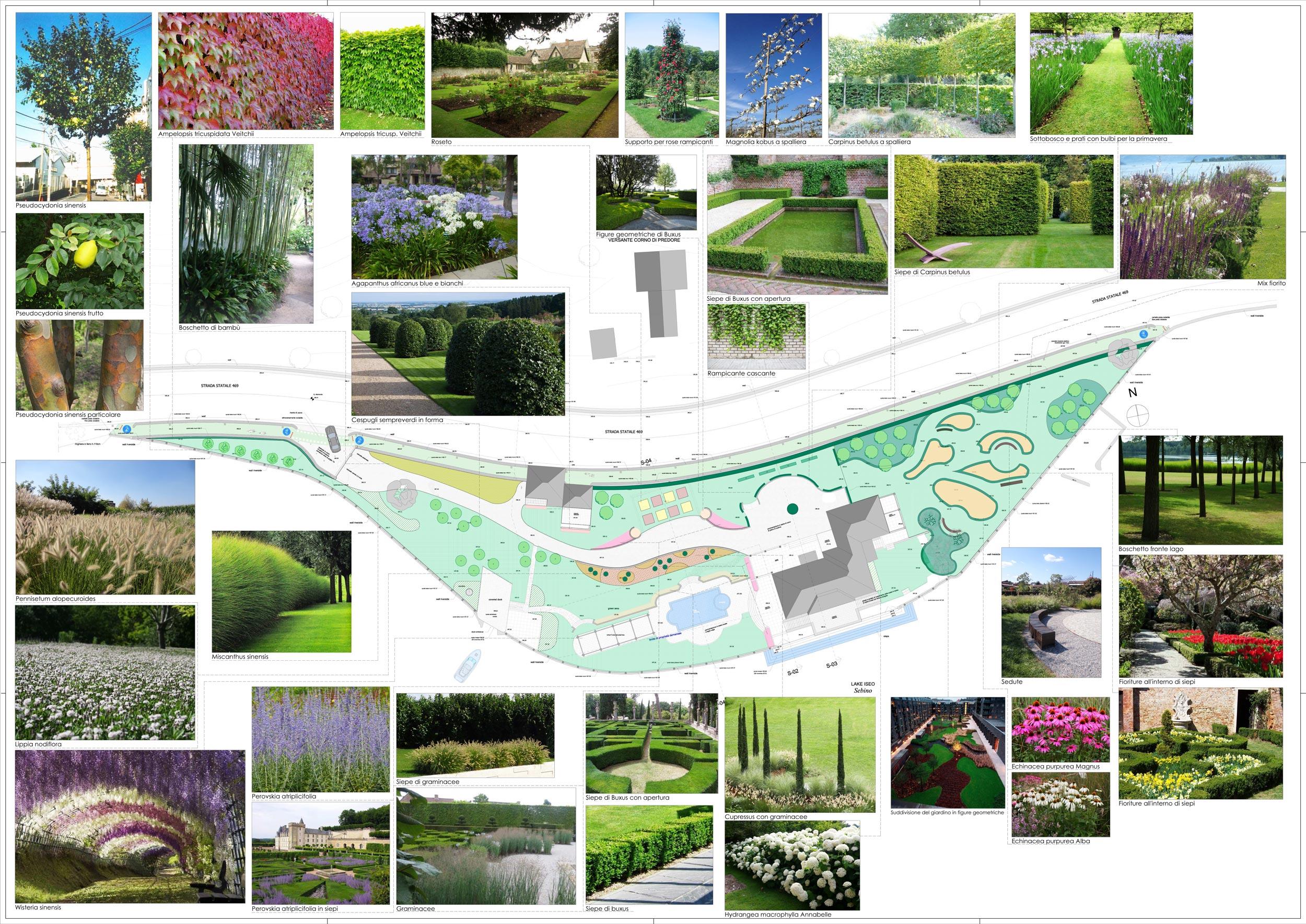 progetti di giardini great giardino piccolo with progetti